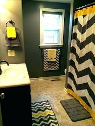 chevron bathroom yellow bathroom set black white and yellow bathroom chevron bathroom set or grey chevron