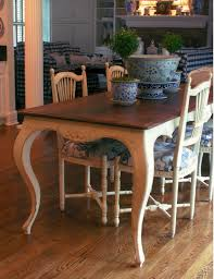 Ethan Allen Country French Dining Table And Chairs - Ethan allen dining room chairs