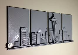 seattle quarter wll art 3d printing industry