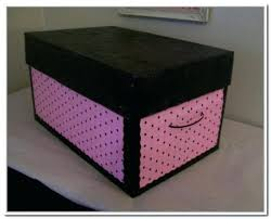 Large Decorative Cardboard Storage Boxes Decorative Storage Bins With Lids Image Of Decorative Storage 2