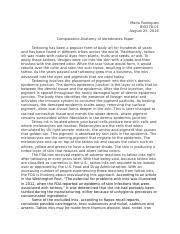 comparative anatomy study resources comparative anatomy essays