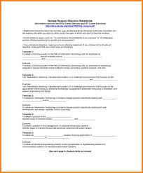9 Resume Objective Statement Examples Happy Tots