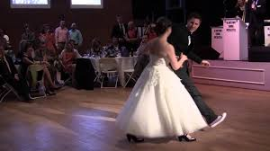 megg and clayton's first dance \