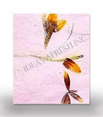 Flower Pressed Paper Pressed Flower Paper