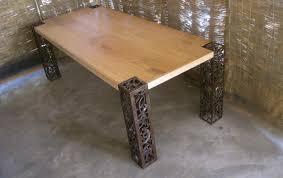 metal and wood furniture. Scrap Metal \u0026 Mango Wood Table. Magero1 Magero2 And Furniture N