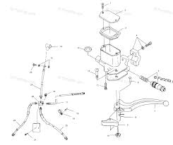 polaris fuel pump pressure wiring diagram database polaris atv oem parts diagram for controls master cylinder brake line