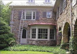 house with bay window. Fine Bay Stone Siding On Main House With Metal Roof Over Bay Window  In House With Bay Window E