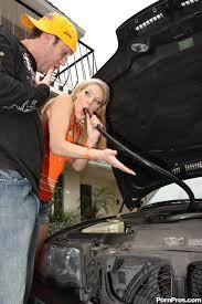Deep Throat Love Ally Ann Cute Blonde Deepthroats A Car Hose Then.