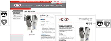 Glove Cut Rating Chart Updated Ansi Standard For Cut Resistance