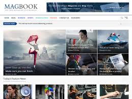 Wordpress Template Newspaper Magbook Wordpress Theme Wordpress Org