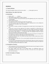 1 Month Tenancy Agreement Gallery Agreement Example Ideas
