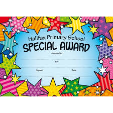 Kids Certificate Border Personalised Certificates For School Children Brainwaves