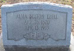 Alma Belton Ezell (1870-1955) - Find A Grave Memorial