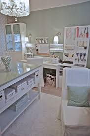 craft room home office design. Awesome Pegboard Craft Room Ideas As Home Office Design : Creamy White Designs With Glass Top Sewing Table And Chairs N
