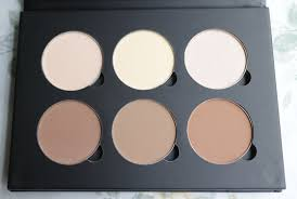 up for ever contour kit vs wet n wild contouring palette bailey there are six colors highlight