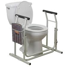 bathroom safety for seniors. Stand Alone Toilet Safety Rail Grab Bar Bathroom For Seniors