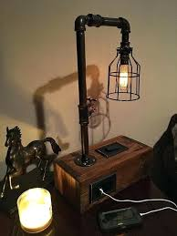 diy table lamps how to make a rustic e lamp rustic e lamp cool driftwood diy pool table light ideas