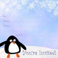 winter party invitations templates hubpages