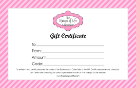 Online Gift Certificate Template Template Personal Training Gift Certificate Template 7