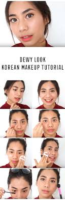 best korean makeup tutorials dewy look korean makeup tutorial abel cantika