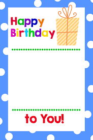 printable gift cards printable pages printable birthday gift card holders