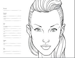 blank digital clock face printable mac charts celebrity inspired style hair beauty free worksheets mask