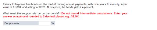 essay enterprises has bonds on the market making a com essay enterprises has bonds on the market making a