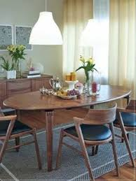 mid century danish modern inspired dining set solid walnut dining chairs jm 103