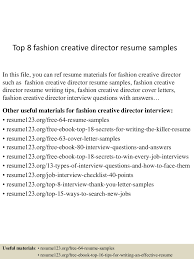 topfashioncreativedirectorresumesampleslvaappthumbnailcb