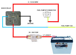 Wiring Diagram For Electric Fuel Pump Hot Rod Fuel Pump Wiring Diagram