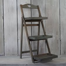 Wooden Ladder Display Stand Wooden Display Stands Rustic Rentals 96