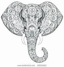Elephant Mandala Coloring Pages Inspirational 15 Elegant Elephant