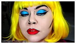 pop art ic book makeup tutorial vine or tacky