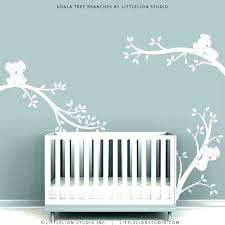 white tree decal wall sticker decals for baby room nursery items similar to stickers