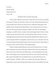 argumentative essay doan does technology make us more alone in  10 pages final research essay