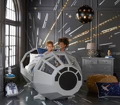 Star Wars' Millennium Falcon Cockpit Bed by Pottery Barn Kids