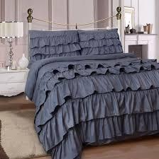 luxury 4pc ruffler complete duvet cover set ed sheets