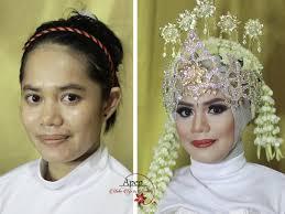 makeup wedding muslim siger sunda wedding hijab styles