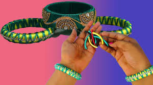Design With Broken Bangles Diy Necklace Designs With Broken Bangles Crafts Tips Zigzag Fashion Design Bangles Fb Designs