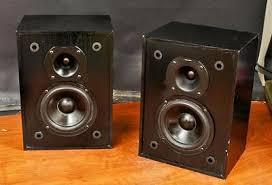 vintage klipsch bookshelf speakers. vintage klipsch kg .5 home audio bookshelf speakers !! r237 r