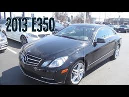 I prefer sedans and wagons. 2013 Mercedes E350 4matic Coupe Review Engine Interior Youtube
