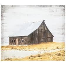 brown barn canvas wall decor hobby