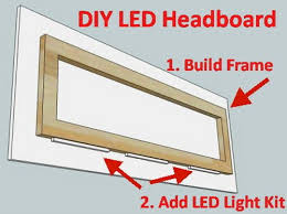 bedroom led lighting ideas. easy diy led headboard bedroom lighting ideas b