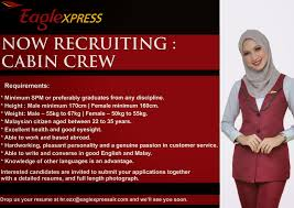 fly gosh eagle xpress cabin crew recruitment