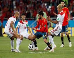موسكو - إسبانيا تمكنت من انتزاع تعادلا أمام المغرب