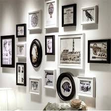 multiple picture frames on wall ideas. Contemporary Wall Multi Frame Wall Art Designs Black White Blue  Set Buy  To Multiple Picture Frames On Wall Ideas S