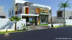 3D Front Elevation.com: Beautiful Modern Contemporary House ...