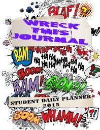 Student Daily Planner Wreck This Journal Student Daily Planner 2015 Buy Online In Oman