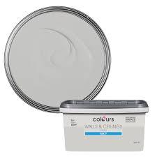 Colours Standard Light Rain Matt Emulsion Paint 5L | Departments | DIY at  B&Q