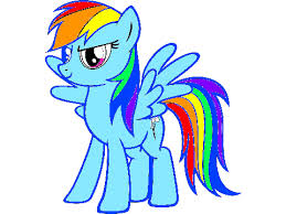 Small Picture rainbow dash coloring page Clipart Panda Free Clipart Images